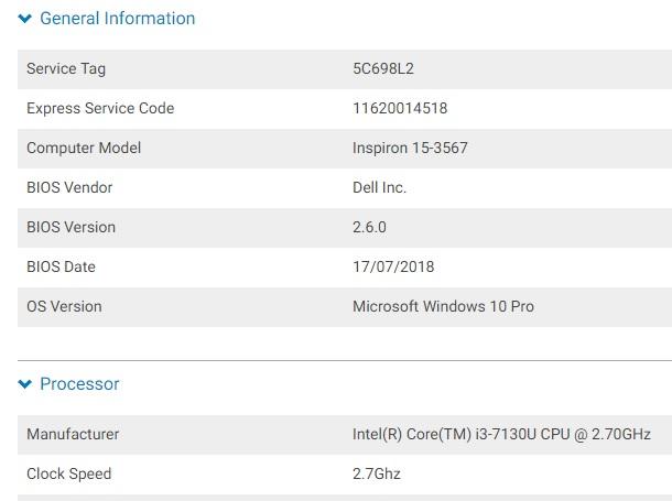 Dell Inspiron 15 3567 laptop VGA driver not install | Laptop